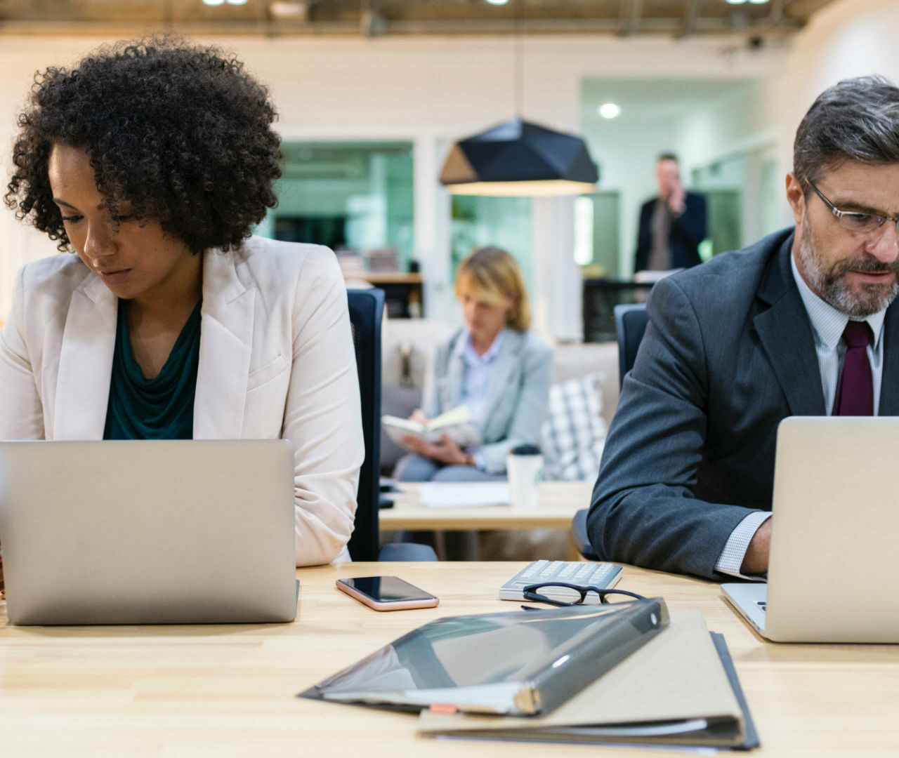 Working environment, not time of the year has most negative effect on staff wellbeing