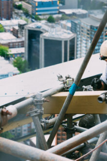 Construction sector mental health