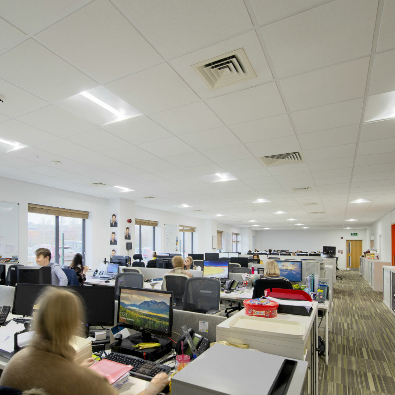 Lighting for Wellbeing: Lighting project for insurance company puts staff first