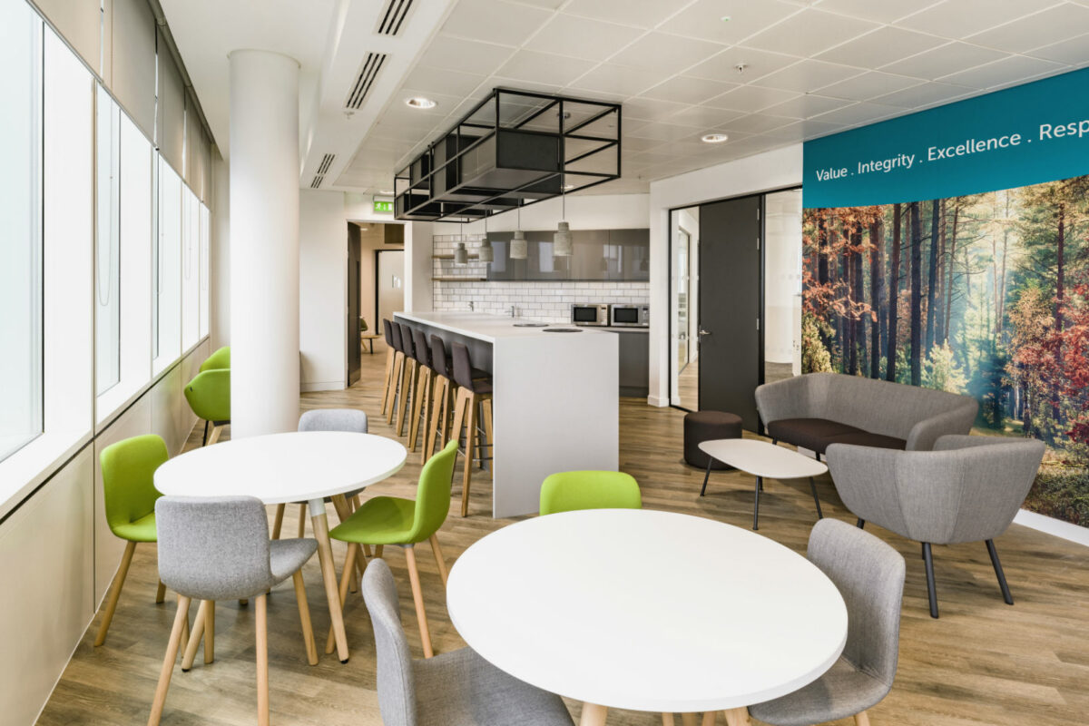 The UK's leading health and wellbeing provider unveils new office
