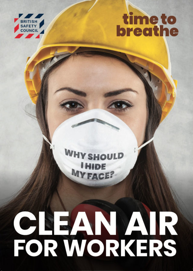 British Safety Council, welcomes the #AirWeShare campaign in calling for urgent action on protecting outdoor workers from air pollution.