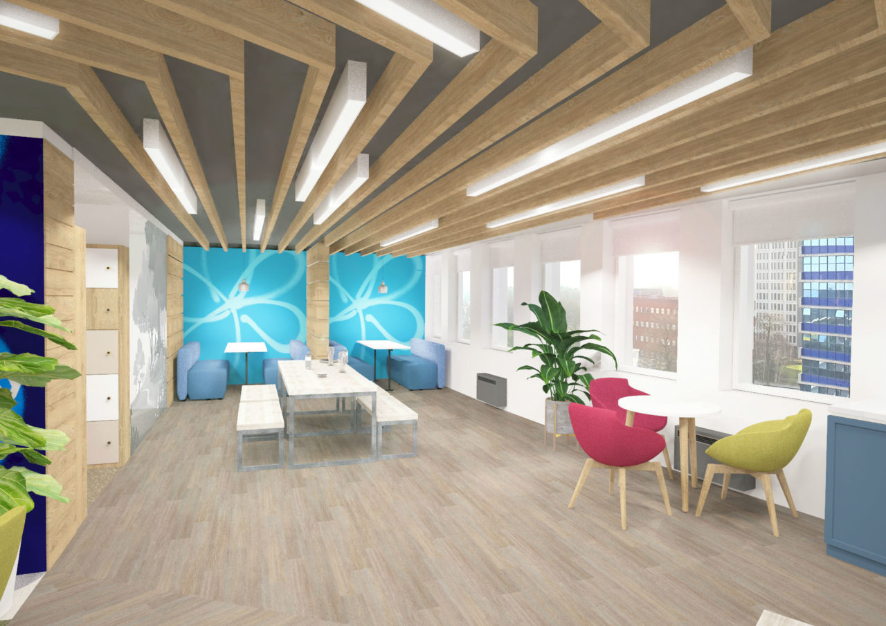 Office fit out and refurbishment specialist, Overbury, is delivering a new dementia friendly office for national dementia charity.