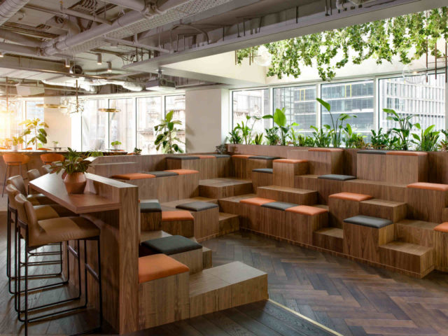 Uncommon's London Liverpool Street Healthy Workplace