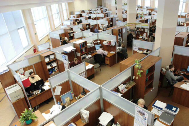 Is there still a place for the traditional office?