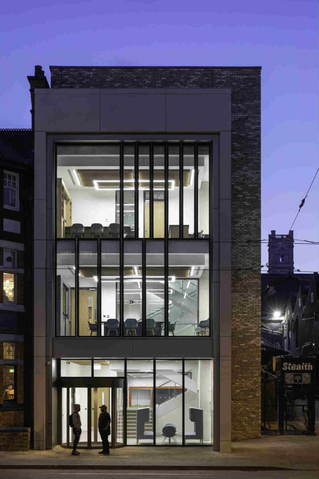 A £6m development at 23 Goldsmith Street is now providing an exciting new office building which aims to improve wellbeing of staff & students