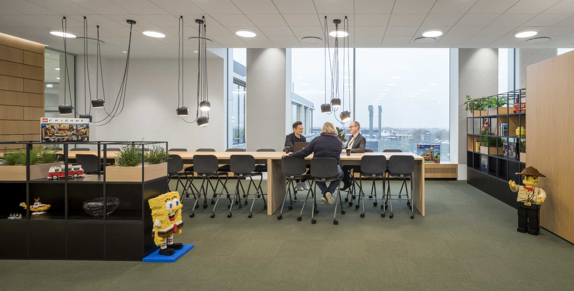 Anneke Beerkens, at the LEGO Group, has worked with hundreds of employees from around the world to design the ultimate LEGO workplace.
