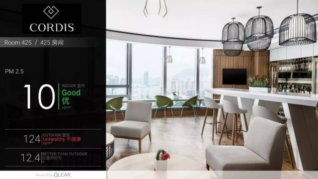 Cordis Hotel in Shanghai became the first RESET certified hotel in the World