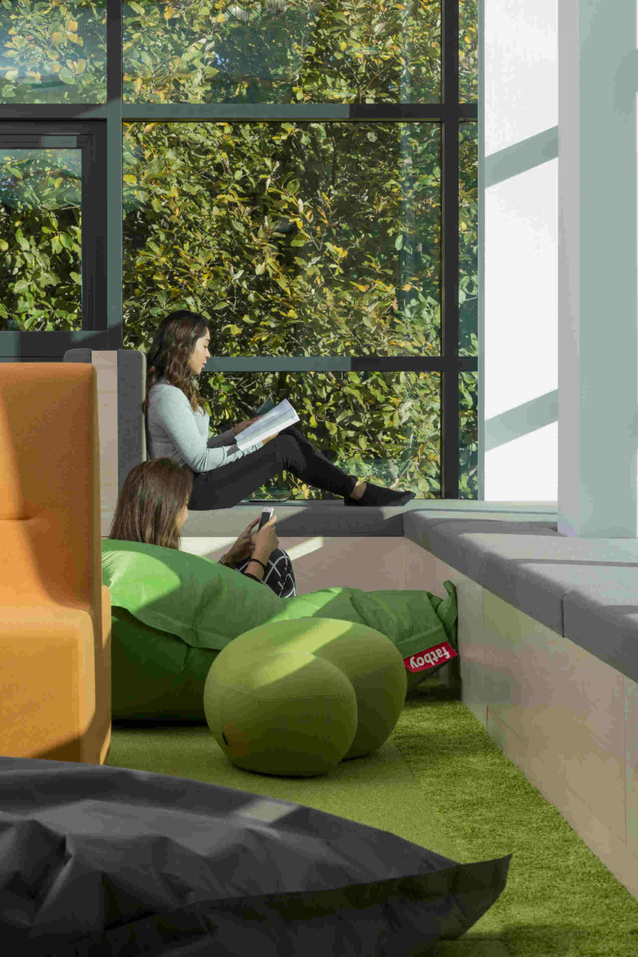 From biophilia to acoustics and clever colour choices, architect Ruth Evans explains how responsible design can reduce workplace stress