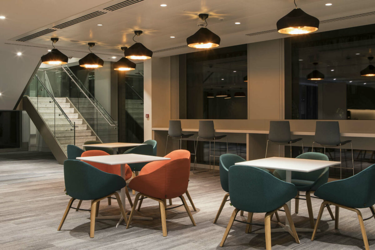 Lighting scheme meets WELL requirements – enhancing employee's wellbeing experience