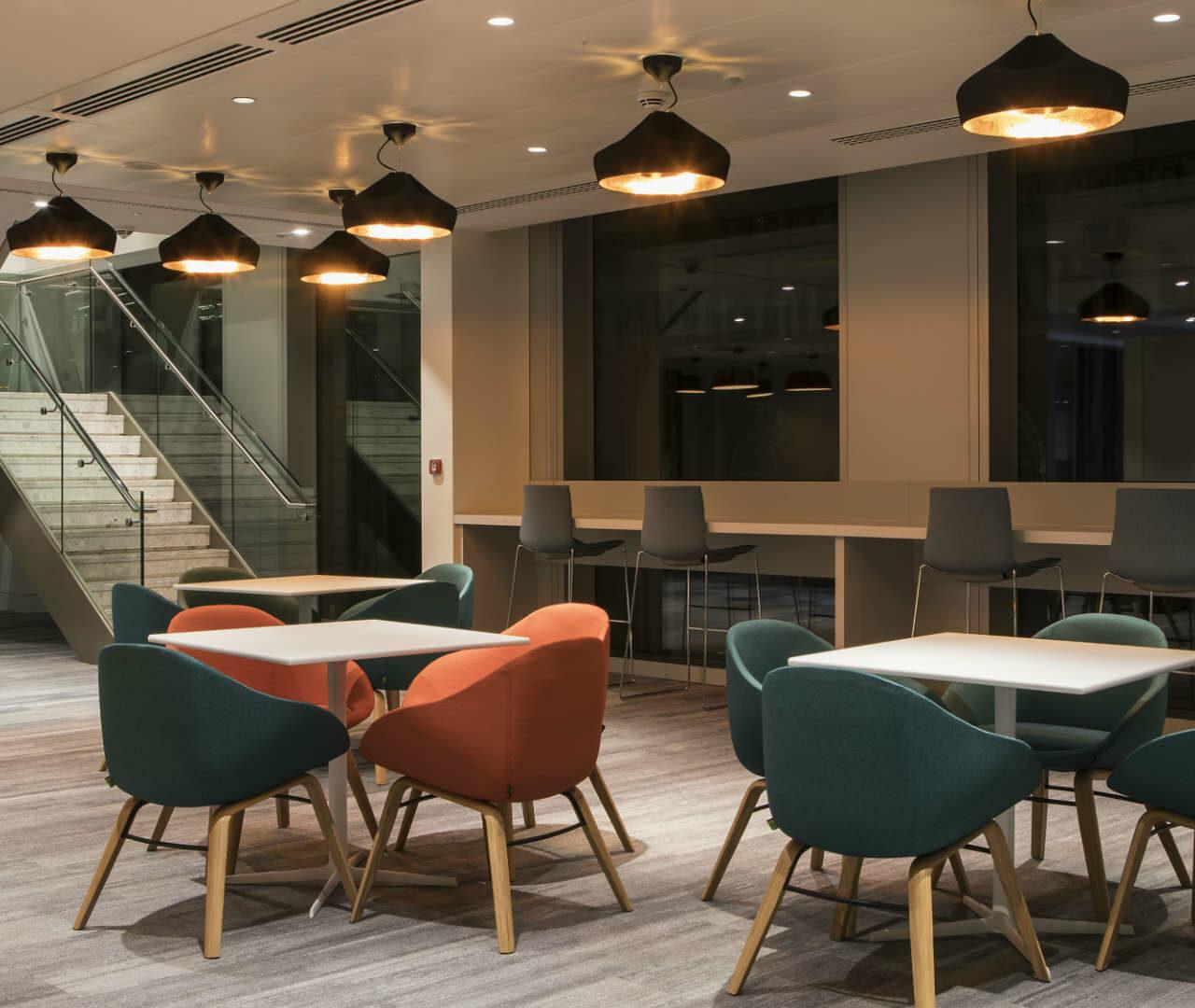 Lighting scheme meets WELL requirements – enhancing employee's wellbeing experience