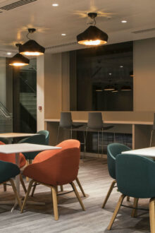Nulty has completed a WELL certified lighting scheme for Fidelity International's new UK headquarters on Cannon Street.
