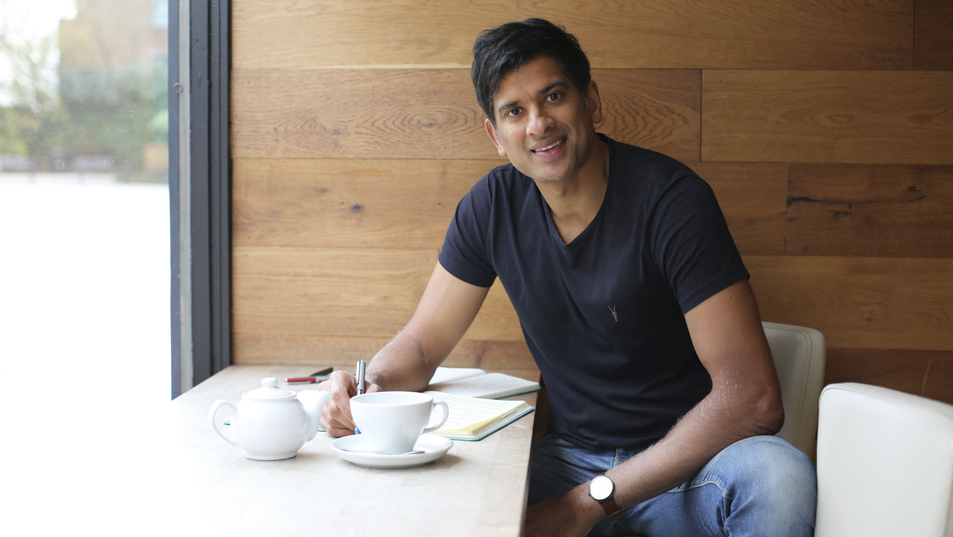 Dr Rangan Chatterjee believes his new health plan could transform businesses across the UK. He explains how to be less stressed.