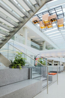 Flexible LED lighting from Tamlite embraces 'dynamic' working and innovative lighting in CEF's new human-centric work environment