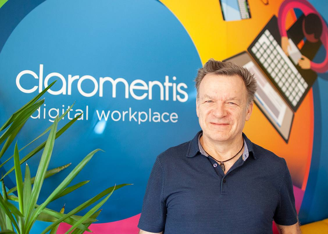 Nigel Davies is CEO of digital workplace Claromentis