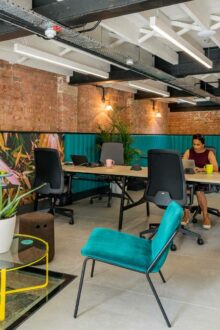 COVID-19 is accelerating the healthy building movement. So how can we create safe office spaces? UK's top workplace design experts explain…