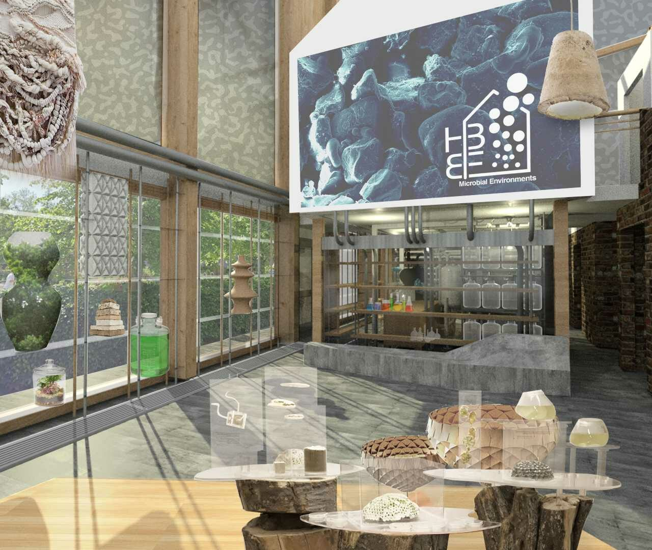 Experimental living building to be a testbed for materials, health and wellbeing