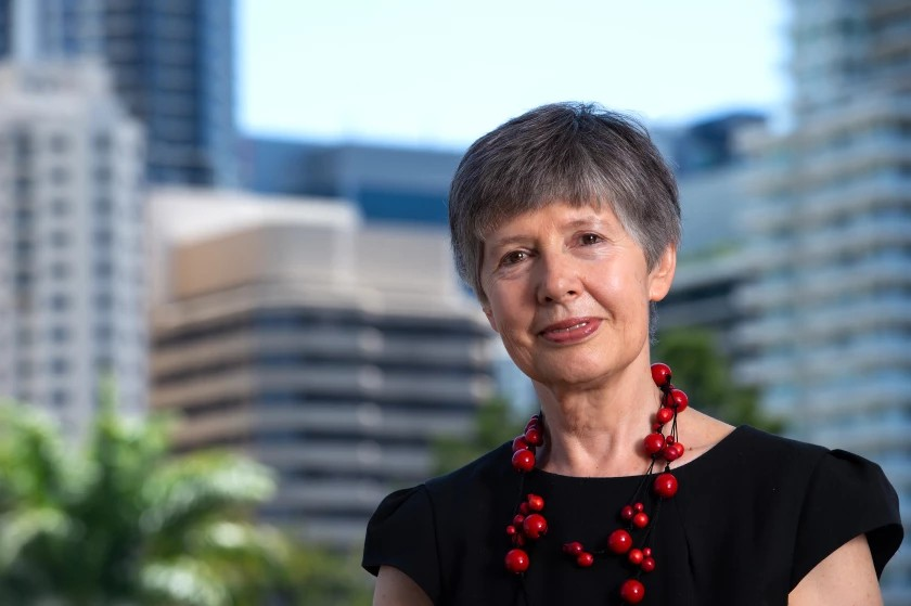 Lidia Morawska, the lead author of the paper and a physicist at the Queensland University of Technology in Australia(Anthony Weate / Queensland University of Technology )